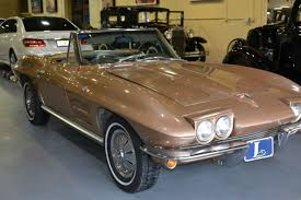 1964 stingray corvette convertible 1964 corvette stingray convertible gold with white top 250