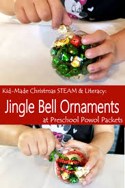 steam kid made ornaments book preschool powol packets