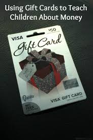 gift cards without fees using gift cards to teach children about money bullock s buzz