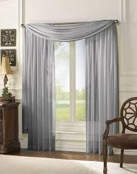 Black Scarf Valance Window Scarf Valance Two Tone Window Treatment Vista Sheer 288
