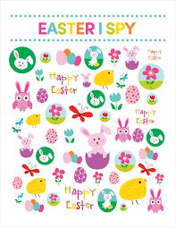 Halloween I Spy Printable Easter I Spy Printable Lil U0027 Luna