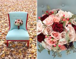 10 gorgeous fall wedding color palettes detail
