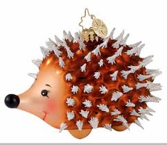 christopher radko squeeze me ornament porcupine ornament