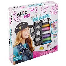 amazon com alex toys diy paint and wear enamel pins toys u0026 games