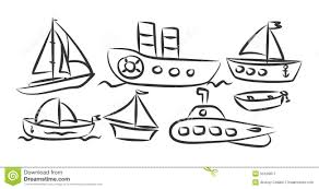 river and sea transport stock vector image 50169817