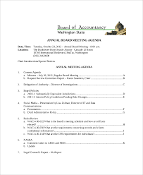 annual review report template 10 client meeting agenda templates free sle exle format