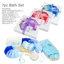 Bath And Shower Gift Sets 7pc Bath Shower Gift Set Bath Accessories Set