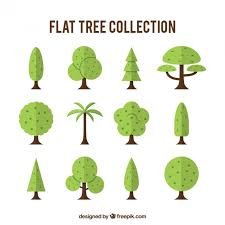 different types of trees collection of different types of trees vector free download