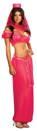 Genie Halloween Costume Genie Bollywood Pink Costume Halloween
