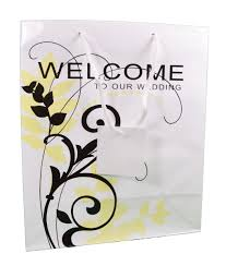 welcome to our wedding bags welcome to our church gift bags 1 dozen bulk