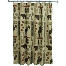 Country Shower Curtain Bacova Guild Big Country Shower Curtain Walmart