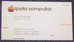 apple business card the apple business card 1984 the change of business the