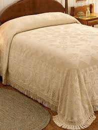 hobnail bedspread heirloom cotton bedding