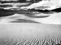 Black Sand 3 5 Desert Sand Dunes Lines Mountains Black And White Wallpaper Free