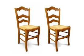 chaise en bois chaise en bois massif lot de 2 gamme oxford hellin