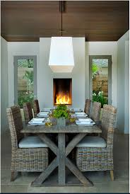 beautiful wicker dining room furniture contemporary home design