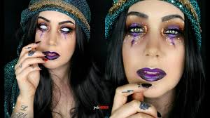 fortune teller makeup tutorial jade madden youtube