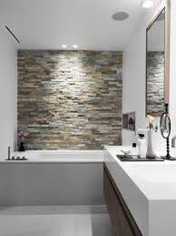 feature wall bathroom ideas accent wall in your bathroom something to look at in the