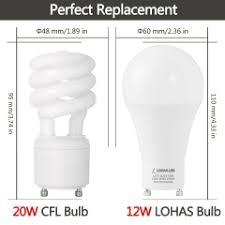 gu24 base led light bulb lohas gu24 base led light bulb 75w 100w equivalent 12w led bulbs