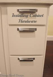 How To Install Cabinets In Kitchen How To Install Kitchen Cabinet Hardware Tutorial Dream Book Design