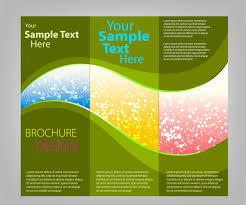 tri fold brochure illustrator template 11 printable trifold