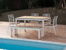 Aluminium Patio Table Aluminium Patio Sets Storefivestars Patio Table In Aluminium With