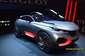 futuristic cars 2015 peugeot quartz suv concept futuristic car 05 2015 geneva