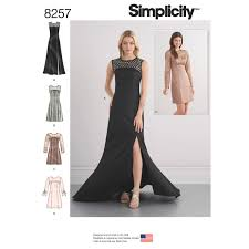 special occasion dresses simplicity simplicity pattern 8257 misses special occasion