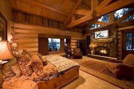 luxury log home interiors luxury log cabin bedroom interior design 2 24 spaces