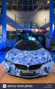 germany berlin kurfurstendamm bmw showroom bmw i8 electric car