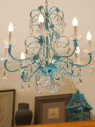 Painted Chandelier Painted Chandelier House Furniture Ideas