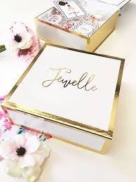 gold foil gift boxes personalized gold foil gift box margeaux and me