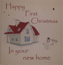 handmade christmas card first christmas new home handmade card