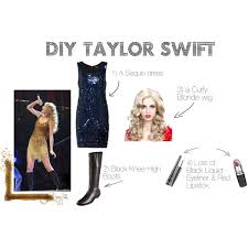 diy taylor swift costume polyvore