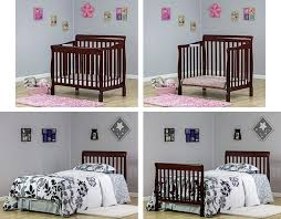 Cribs That Convert To Beds by Why The Dream On Me 4 In 1 Aden Convertible Mini Crib Can Handle