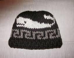 cowichan hat toque hat cowichan killer whale canadian wool by raincoaststudio