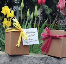 flower pot favors fall flower favors for bridal showers plant a memory favors gifts
