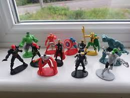 marvel cake toppers 12 figures marvel the figurines toys cake toppers