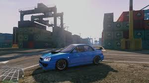 subaru wrx drift car subaru impreza wrx sti drift handling mod gta5 mods com