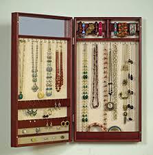 Wall Mount Jewelry Cabinet Wall Hanging Jewelry Box Wall Art Design