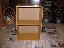 simply living cheap 2 shelf bookcase makeover