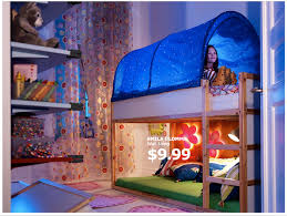 Bunk Bed Canopy Tent Ikea Kura Bed Canopy Thing This Remains My Specific