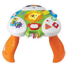 kiddieland toys light and sound discovery activity table for