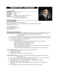 Simple Resume Sample Format by Resume Sample Format Resume Sample