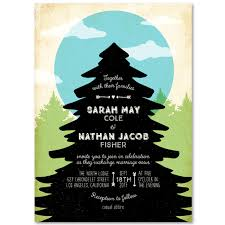themed wedding invitations moon themed wedding invitations on 100 recycled paper blue moon