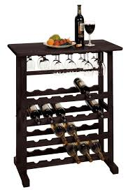 eliza 24 bottle floor wine rack u0026 reviews allmodern