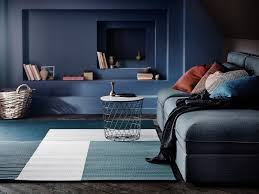 Blue And White Striped Rugs Uk Rugs Buy Rugs Online Ikea