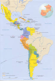 Map Of South And Central America Maps Of America My Blog