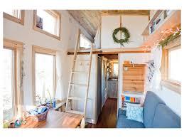 Tiny House Living Room by Diy Tiny House Trailer On Wheels Custom Made Ladder Living Room