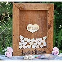 guest sign in ideas wedding guestbook or wedding guest book handmade products